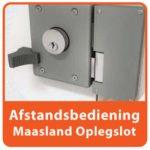 Afstandsbediening Maasland Oplegslot