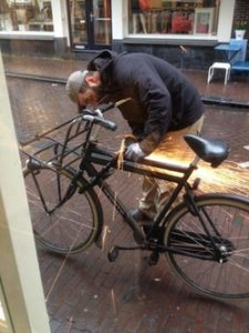 Fietsslot openen Fiets Open Slijpen Slotenmaker Den Haag