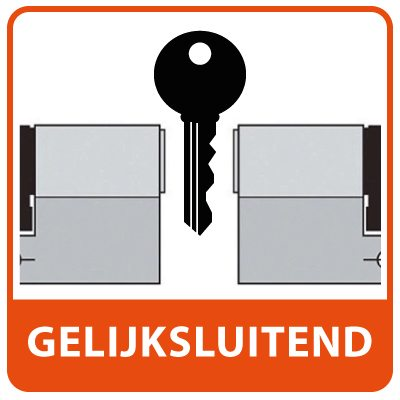 Gelijksluitende Cilinders Profielcilinder SKG