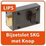 LIPS Bijzetslot met Knop SKG Slotenmaker Den Haag