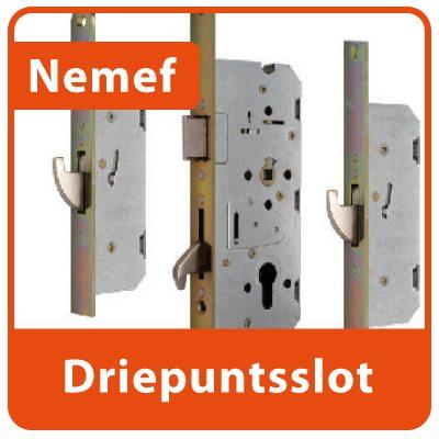 Nemef-Driepuntsslot SKG met Haken