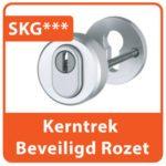 Kerntrek Beveiliging Rozet Aluminium SKG