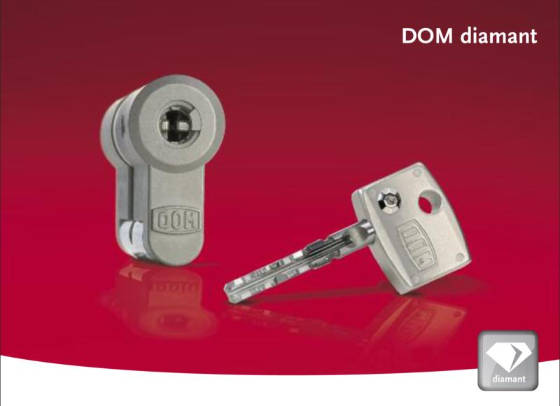 DOM Diamant Cilinder SKG