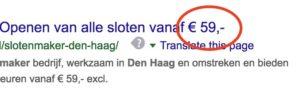 Pas op voor Oplichting door Slotenmakers die hele lage prijzen beloven! Slotenmaker Den Haag