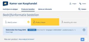 Slotenmaker Den Haag Kamer van Koophandel